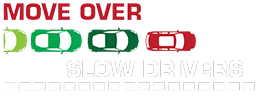 Move Over Slow Drivers™ (MOSD) App Logo